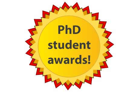 PhD student awards badge
