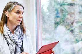 Librarian Doris Kopp