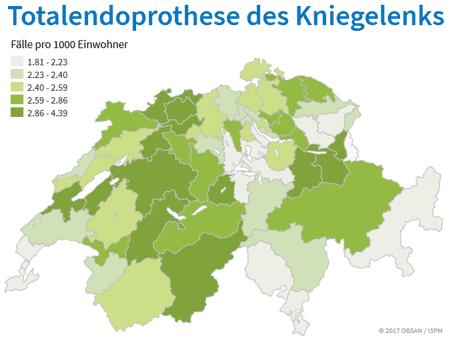 Versorgungsatlas Schweizer Karte