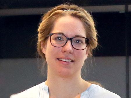 Researcher Kathrin Zürcher