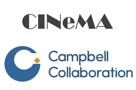 CINeMA logo, Campbell Collaboration logo